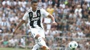 Cristiano Ronaldo a marqué ses deux premiers buts pour la Juventus en amical