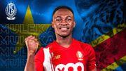 Le Standard officialise l'arrivée de Jackson Muleka, attaquant du TP Mazembe