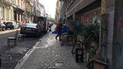 Bruxelles: après onze ans, les habitants du 123 rue Royale ont quitté le bâtiment