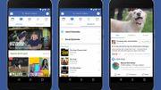 Le service vidéo de Facebook disponible dès aujourd'hui dans le monde entier