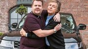 James Corden & McCartney à Liverpool