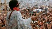 Jimi Hendrix à Woodstock