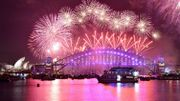 Feu d'artifice géant à Sydney, hommages à David Bowie et Prince