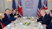 """Donald Trump a rencontré Boris Johnson en marge du G7: """"C'est l'homme qu'il faut pour conduire le Brexit"""""""