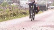 16 km de piste goudronnée lisse entre Ottignies et Groenendael : interdit aux cyclistes
