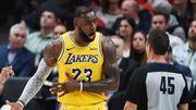 LeBron James battu pour ses débuts avec les Lakers