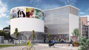 La façade de la Maison de la culture comme on devrait la voir dans 2 ans