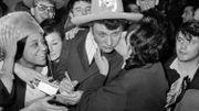 A son retour des Etats-Unis, en 1962