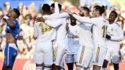 Le Real Madrid souffre à Getafe mais s'en sort grâce à Varane, Modric et Courtois, magistral