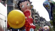 La parade des ballons en 2011 dans les rues bruxelloises