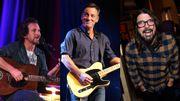 Bruce Springsteen rencontre Dave Grohl et Eddie Vedder