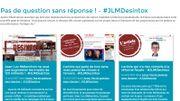 Capture d'écran du site de campagne de Jean-Luc Mélenchon