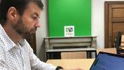 Éric Willems est pédagogue à l'UNamur. C'est lui qui a proposé l'utilisation du logiciel aux étudiants namurois.