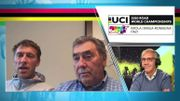 """Eddy et Axel Merckx débriefent les Mondiaux: """"le contre-la-montre a peut-être affaibli un peu Van Aert"""""""