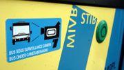 Des panneaux préviennent les usagers qu'ils sont filmés