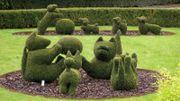 Où trouve-t-on un jardin de 250 sculptures sur plantes en Europe? À Durbuy, bien-sûr !