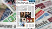 La revue de presse : Ces restaurateurs qui ferment le samedi soir