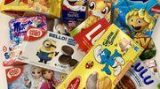 Produits destinés aux enfants: gare aux mascottes