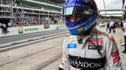 Alonso va reprendre le volant d'une McLaren aux essais de Bahreïn