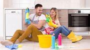 Faire le ménage ensemble après les fêtes