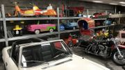 Citroën SM et jouets automobiles d'autrefois