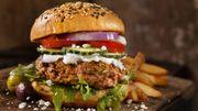 Recette: Burgers d'agneau bio au chèvre et au bacon