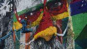 """""""La plus grande fresque du monde"""" d'Eduardo Kobra, pour les JO de Rio"""