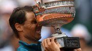 """Nadal: """"c'est incroyable, gagner une 11e fois, c'est même inconcevable de le rêver"""""""