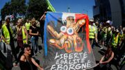 """À Paris, des """"mutilés gilets jaunes"""" marchent pour dénoncer les violences policières"""