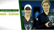 9 janvier 2010, la finale Henin-Clijsters à Brisbane