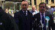 Le parti pro-Brexit de Nigel Farage secoué par des agressions… au milk-shake