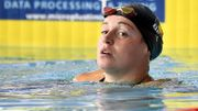 Fanny Lecluyse en finale du 50m brasse avec le sixième chrono des demi-finales