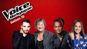 The Voice: Christophe Willem, Black M, Typh Barrow et BJ Scott sont les coachs de la saison 10!