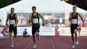 Jonathan Borlée pas inquiet dans sa course au minimum européen sur 400 m