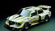 La BMW Art Car de Roy Lichtenstein exposée au Centre Pompidou à Paris