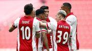 L'Ajax, véritable machine à marquer, sacré champion des Pays-Bas