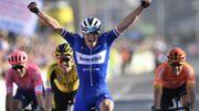 Stybar règle Van Aert et Van Avermaet à Harelbeke et remporte le GP de l'E3