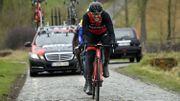 """Van Avermaet : """"Le parcours est très sale, c'est dangereux mais c'est la Flandre"""""""