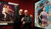Les artistes Pierre et Gilles dévoilent leur travail sur les portraits de stars