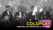 Coldplay – Everyday Life : le showcase à Londres
