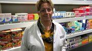 Françoise Barbay, pharmacienne à Namur.