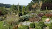 A Nessonvaux, le jardin de Claudine et Jean-Claude