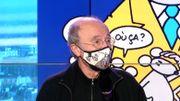 """Philippe Geluck: """"De1983 à aujourd'hui le Chat a énormément changé physiquement"""""""