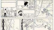 Deux rares dessins de Tintin seront vendus aux enchères samedi