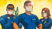 Marvel, la maison des super-héros, consacre un comic book au personnel soignant