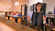 Myriam Louyest est une plasticienne fascinée par la transparence, un thème qu'elle explore à travers le verre, la résine, l'eau