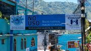 San Pedro La Laguna annonce fièrement la couleur dès qu'on pose le pied sur le territoire de la commune. Tout le monde doit participer à l'effort !