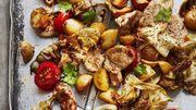 Recette : Sauté de porc mariné et légumes à la plancha