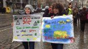 Une partie des personnes présentes lors de la mobilisation ne manifestaient pas que pour le climat, mais protestaient aussi contre les récentes mesures de sécurité.