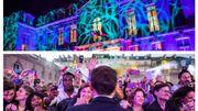 France: pour la Fête de la musique, la cour de l'Elysée s'est muée en... dance floor électro (photos et vidéos)